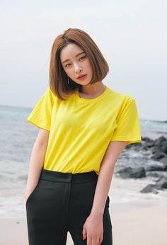 Byun Jungha for Stylenanda Korean Fashion Kpop, Korean Street Fashion, Ulzzang Fashion, Ulzzang Girl, Asian Fashion, Dope Fashion, Fashion Models, Girl Fashion, Fashion Outfits