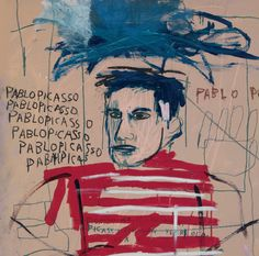 View Untitled Pablo Picasso by Jean-Michel Basquiat on artnet. Browse upcoming and past auction lots by Jean-Michel Basquiat. Jean Michel Basquiat Art, Jm Basquiat, Pablo Picasso, Paris Kunst, Paris Art, Keith Haring, Norman Rockwell, Basquiat Paintings, Art Parisien