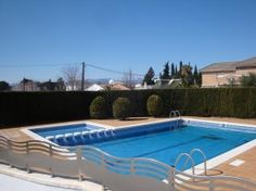 Pool area at Cambrils Mediterraneo, 2 bedroom villa,  Cambrils, holiday rentals, CostaDorada  http://sierrabeachservices.net