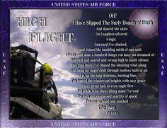 High Flight High Flight, Air Force, Laughter, Bond, United States, Sky, Heaven, Heavens