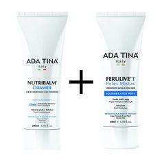 Kit Ada Tina Hidratação Facial Ferulive T e Corporal Nutribalm Ceramide - Shop4Men