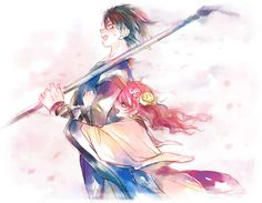 Akatsuki no Yona / Yona of the Dawn manga and anime All Anime, Me Me Me Anime, Anime Love, Manga Anime, Anime Art, Yona Akatsuki No Yona, Anime Akatsuki, Happy Tree Friends, Miyazono Kaori