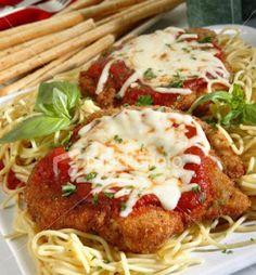 Mmm...Cafe: Chicken Parmigiana