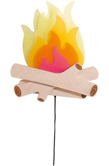 Uitvindingen voor kinderen - Sluimerlamp Kampvuur - Lampen - Kinderkamer - Speelgoed & meubels