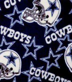 Dallas Cowboys NFL  Fleece Fabric