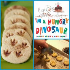 "A fun activity to go along with our New ""I'm A Hungry Dinosaur"" picture book!"