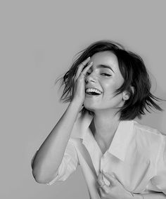 Lily Collins - New Lancome outtake