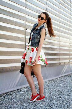 GirlBelieve: How to wear Converse Sneakers