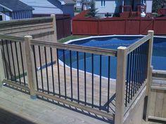 Depuis plus de 30 ans, nous aménageons des patios pour piscines hors terre, semi-creusées et creusées. Nous pouvons vous conseiller sur l'emplacement futur de votre piscine pour optimiser vos installations. Nous vous aidons aussi à prévoir des zones d'intimité pour votre projet en plus d'appliquer les règles de sécurité selon votre région ou selon vos... En savoir plus → Above Ground Pool Decks, In Ground Pools, Barn Loft, Swimming Pools Backyard, Back Patio, Pool Ideas, Old Houses, Pergola, Decking