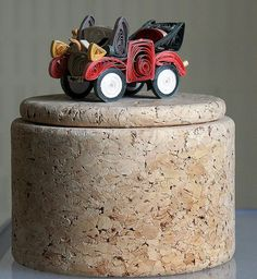 """*Paper Sculpture - """"Automobile""""  by yorkshirelass49 (Quilling)"""