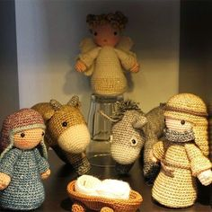 Amber's Creaties: Stonewashed kerststal
