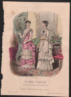 1881  La Mode ILLUSTREE