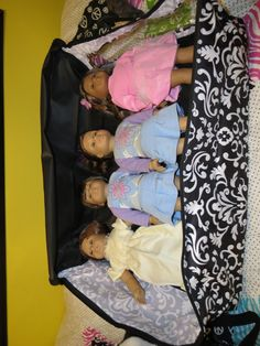 Oversized Storage Tote and American Girl Dolls, perfectly safe clean storage!! www.mythirtyone.c...