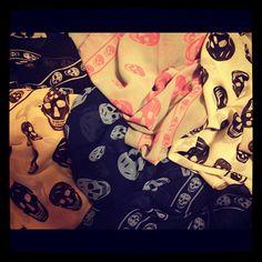 Skull scarves<3<3
