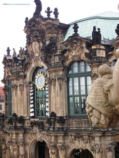 At Zwinger Palace