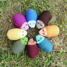 Avec de la laine: Kensington Hedgehog