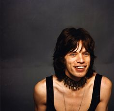 Mick Jagger par Daniel Filipacchi, 1975.