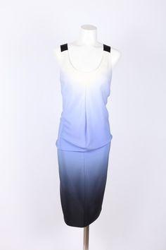 Zero + Maria Cornejo dress Silk Dress, Peplum Dress, Ombre Shirt, Zero Maria Cornejo, Blue Ombre, Dresses For Work, Shirts, Fashion, Silk Gown