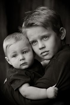 brothers - so sweet, would like to see another one like this where they're looking at the camera.