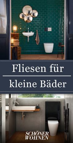 Fliesen für kleine Bäder We show which tiles fit well in small bathrooms. Because even a small bathroom can make it big. Small Bathroom Tiles, Bathroom Flooring, Modern Bathroom, Small Bathrooms, Small Tiles, Engagement Ring Cuts, Decorating Small Spaces, Interior Inspiration, Mirror