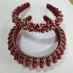 Diy Headband, Floral Headbands, Headband Hairstyles, Diy Hairstyles, Diy Hair Bows, Bead Jewellery, Hair Band, Clothing Patterns, Bandana