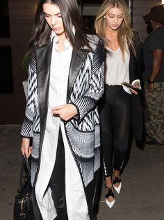 Kendall Jenner Confirms She's Single At Gigi Hadid's 20th Birthday Party - J-14