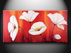 flower painting ideas Easy Canvas Painting Ideas flower