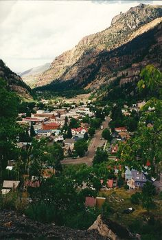 Ouray, Colorado - Little Switzerland of America. Do you have mountains of books…