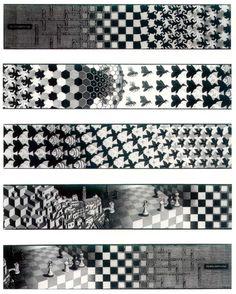 Escher et les sciences: l'obsession de l'infini ~ Sweet Random Science