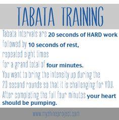 Fit Friday: Tabata Training Video