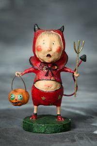 Lori Mitchell Little Devil Halloween Figurine