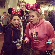Zoe, Caspar and Louise at Disney World LOUISE'S MOUSE EARS. LOOOOOVEEEEE And caspars adorable face haha
