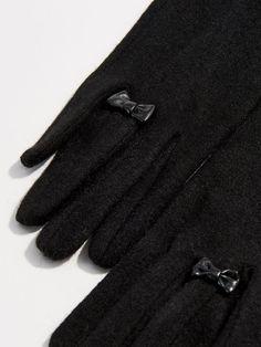 5ee85e4ec6 Mănuși elegante cu lână - negru - UK609-99X - Mohito - 1