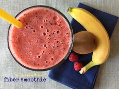 fiber smoothie High Fiber Smoothie Recipe, Kiwi Smoothie, Smoothie Recipes, High Fiber Shake Recipe, Juice Recipes, Green Smoothies, Fiber Diet, High Fiber Foods, Fiber Nutrition