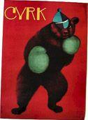 Boxing bear by Andrzej Onegin-Dabrowski