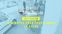 Saint-Maclou transforme votre salon en terrain de foot en 90 minutes! Transformers, Sports Advertising, Ads, Drawing Rooms