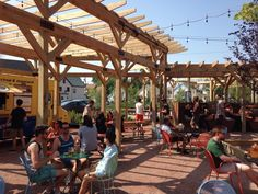 Hydraulic Hearth - Buffalo, NY, United States. Food truck parking zones and moveable furniture By Studio Prospect