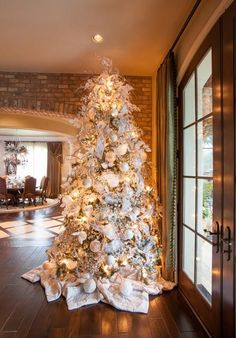 Decorating Home Interiors Decorating Catalog Decorated Christmas Tree Ideas Table Christmas Decorations 446x640 Living Room Ideas For Small Space Traditional Christmas Tree Decor