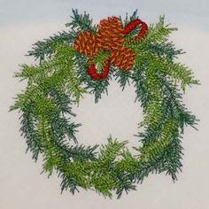Sonia Showalter Designs:  Christmas Pine Wreath