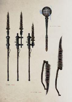Bloodborne rifle spear