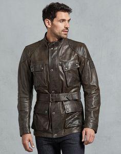 Leather Jacket Outfits, Men's Leather Jacket, Winter Leather Jackets, Winter Jackets, Belstaff Jackets, Men's Wardrobe, Cool Halloween Costumes, Future Fashion, Mandarin Collar