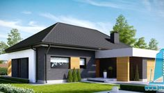 Proiect de casa Duplex cu mansarda | Proiectari si Constructii Plan General, Modern House Design, Home Fashion, Mansions, House Styles, Outdoor Decor, Home Decor, Decoration Home, Room Decor