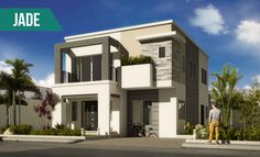 A team of professionals that offers Philippine house designs, which incorporates technology and modern interior design. Master Room, Modern Masters, House Elevation, Plan Design, Two Bedroom, Smart Home, Home Builders, Second Floor, Ground Floor