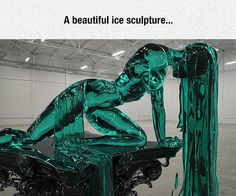 Captivating Ice Sculpture