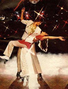 Roller Skate Disco 1970s 1980s #disco #rollerskates #retro #boogie #vinyl