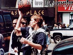 Brian Littrell - His love for basketball.