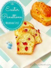 hip2thrift: Easter Panettone Recipe (Moldovan Style)