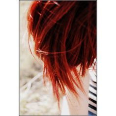 redhead ❤ liked on Polyvore featuring hair, girls, redheads, backgrounds and red hair