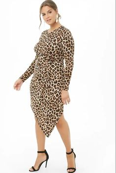 3a8caad47c7 TCFTop10 Under  100  Seeing Spots with Fall s Hottest Plus Size Leopard  Print Finds!