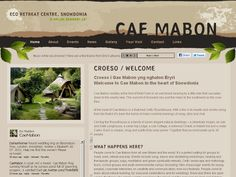 Cae Mabon Retreat Centre in Snowdonia, 'the Welsh Shangri-la'.